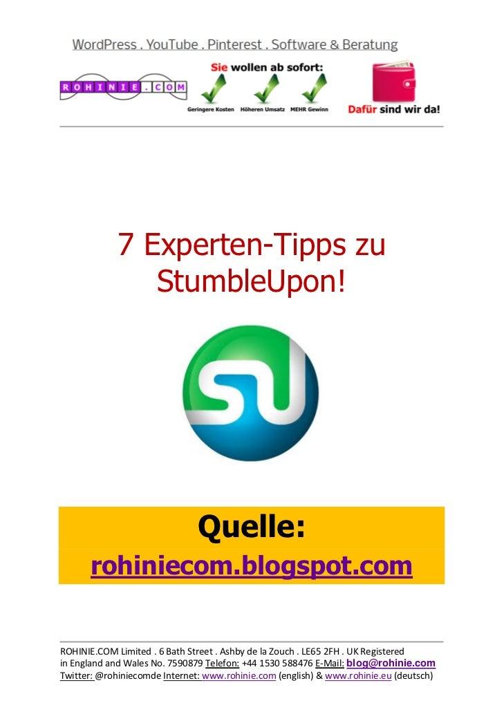 7 Experten-Tipps...
