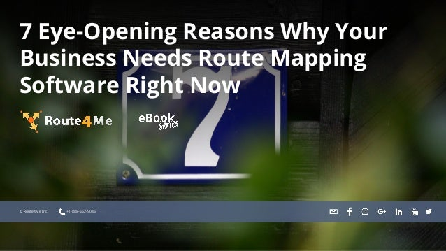 EyeOpening Reasons Why Your Business Needs Route Mapping Software - Trip mapping software