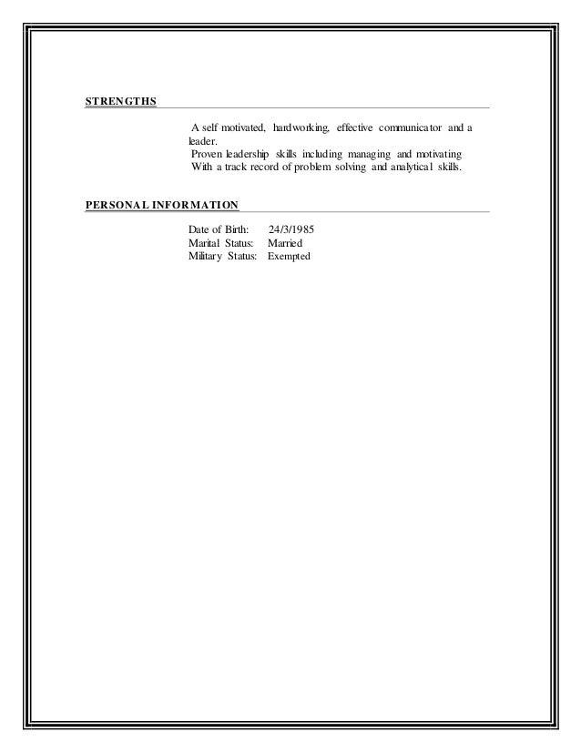 Ahmed Mazher New C.V Form - Medical rep - Copy Slide 3