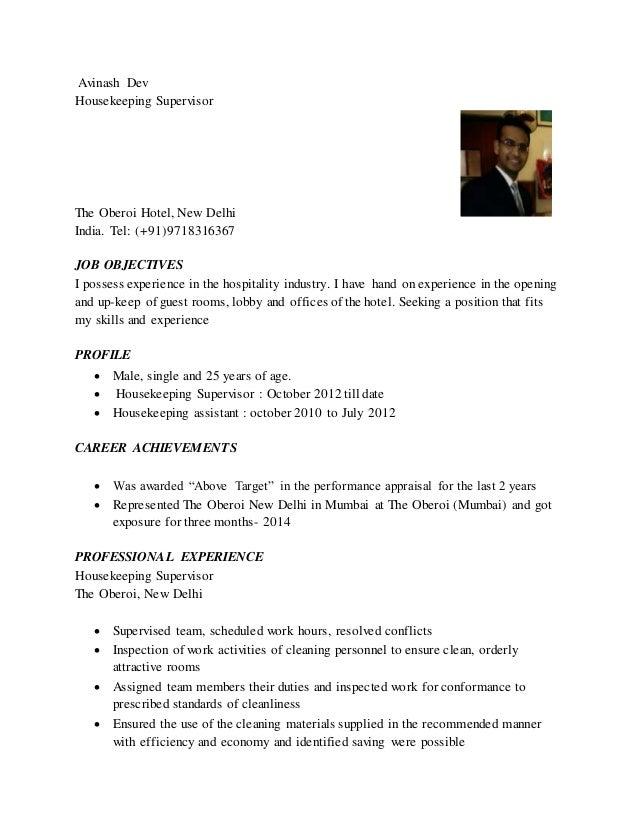 avinash resume