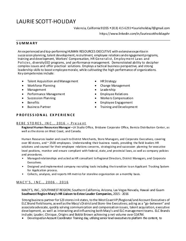 laurie scott holiday resume 6 24 16