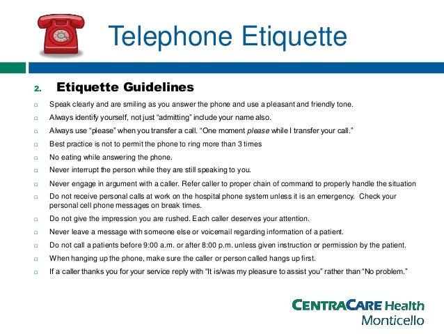 Telephone Etiquette Tips For Professionals