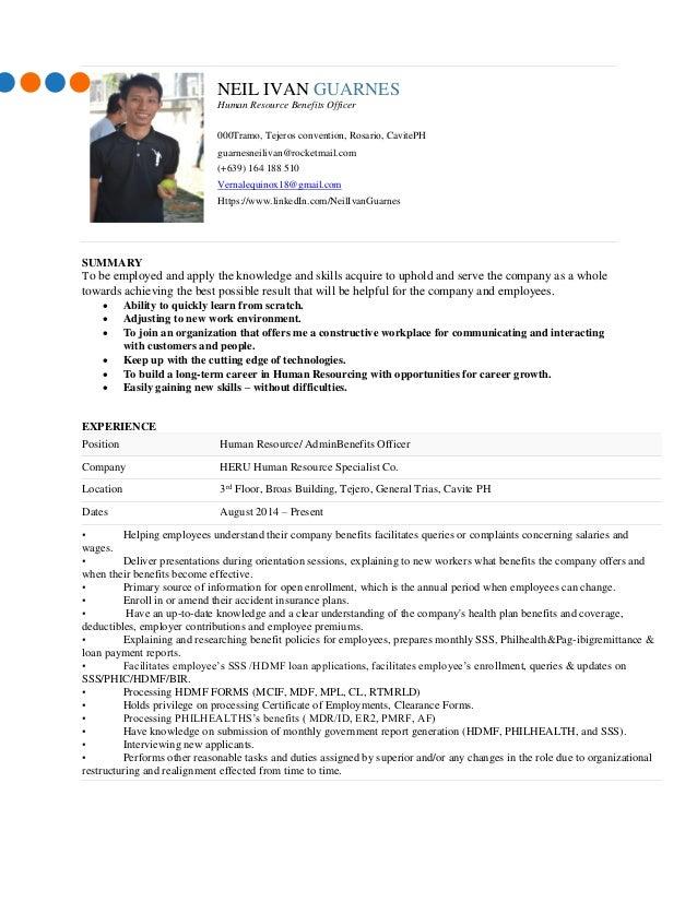 international resume examples