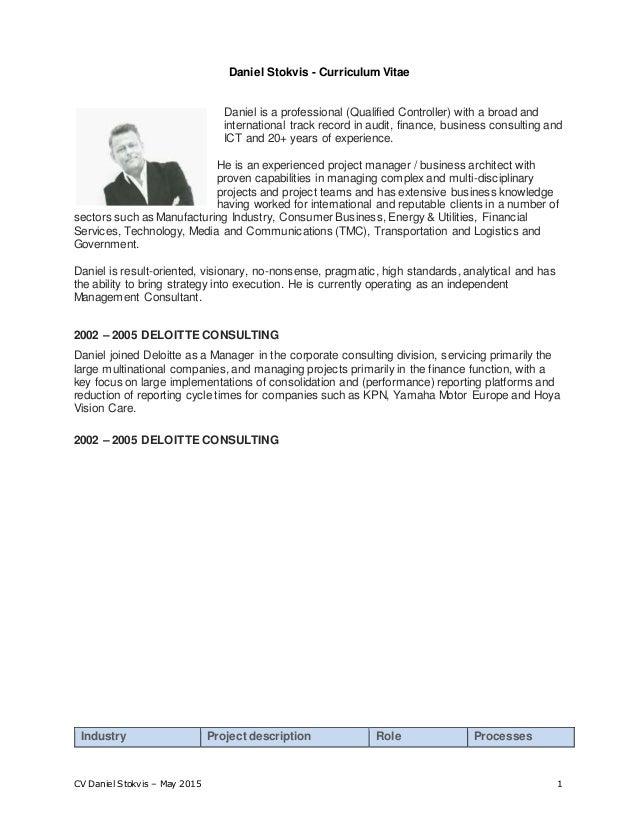 Cover Letter For Deloitte