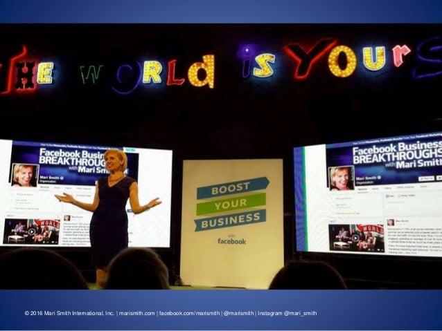 7 Facebook Trends To Grow Your Business In 2016 - Mari Smith Slide 2