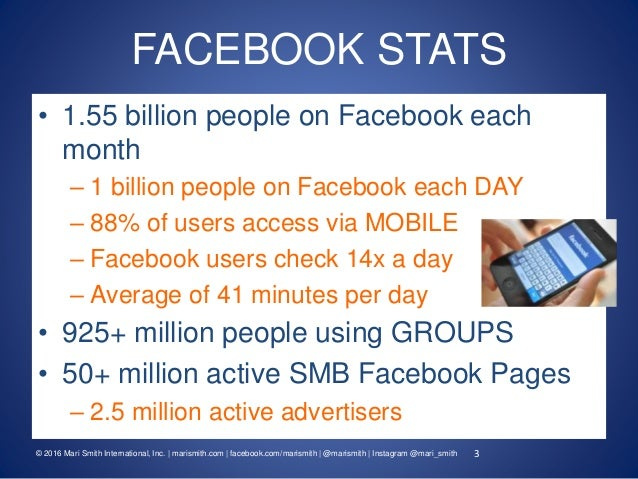 7 Facebook Trends To Grow Your Business In 2016 - Mari Smith Slide 3