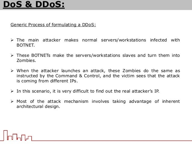 how to make dos attack
