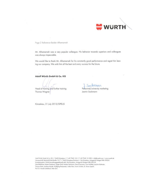 Wuerth Recommendation letter (English)