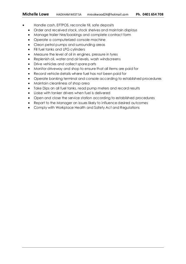 mlowe 2016 resume