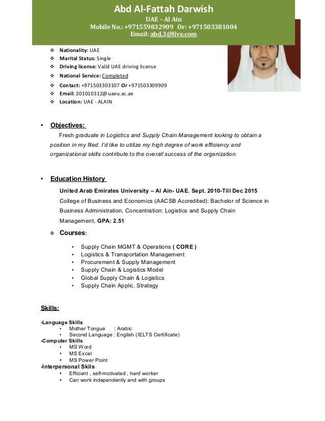 huthaifa al zadjali resume