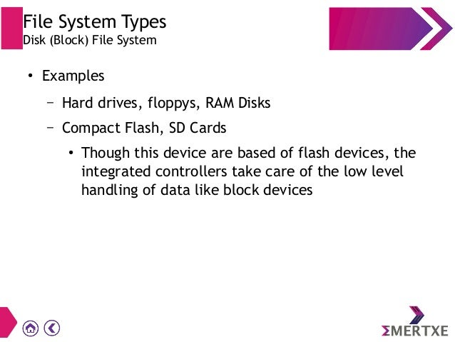 File systems for Embedded Linux