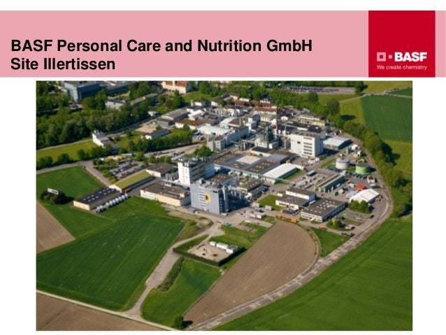 BASF Personal Care and Nutrition GmbH Site Illertissen
