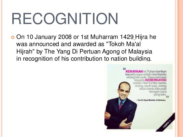 conclusion of the syed mokhtar albukhary Kl shares end higher ci climbs 204%  syed mokhtar, the early years  syed mokhtar albukhary's rise in corporate malaysia has been a spectacular one .