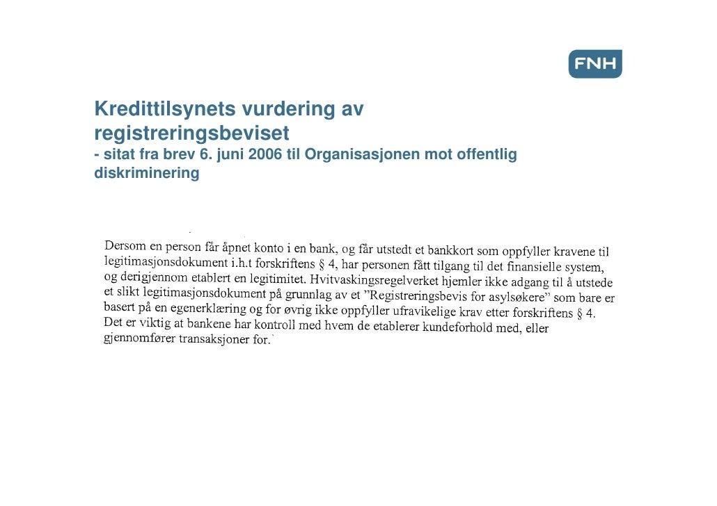 Torjus Moe, FNH, presentasjon på UDIs vårkonferanse 2009