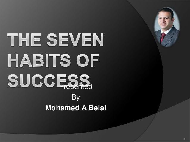 Presented      ByMohamed A Belal                  1