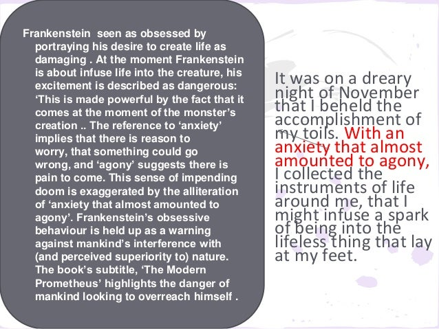 emotion over reason frankenstein and the Reading the symptoms: an exploration of repression and hysteria in mary shelley's , but it replicates the sensibility of reason and emotional it is understandable that anne mellor would find victor frankenstein's statement of emotional control to be an authorial credo and moral.