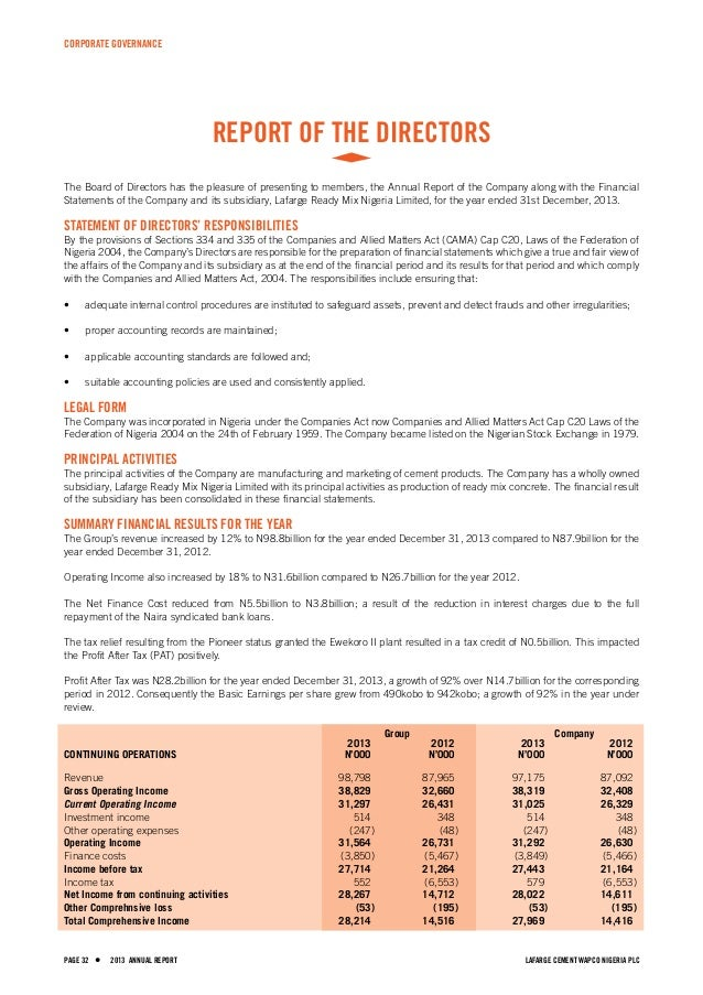 report on lafarge pakistan cement Cement newsgrw india: acc ltd expands its cement plant in sindri tomtpa sales volumes were calculated here from the separate lafarge and holcim annual reports.