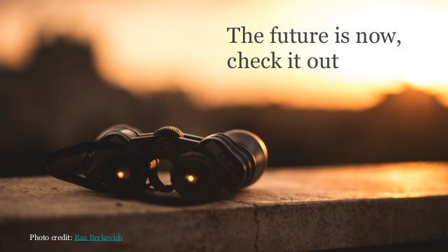 #RelateLiveThe future is now, check it out Photo credit: Ran Berkovich