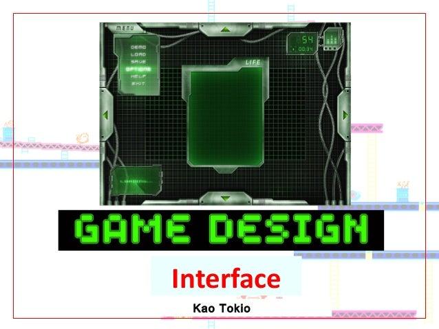 Kao Tokio Interface
