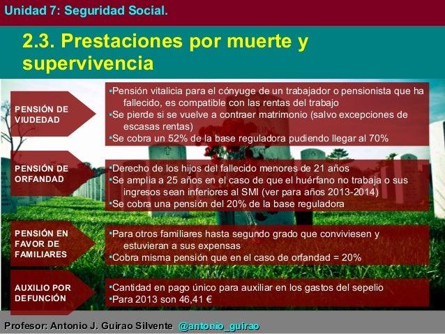 7gm seguridad social y desempleo - Se cobra la pension el mes de fallecimiento ...