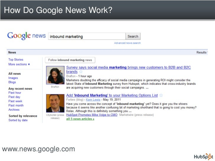 Next Steps For You: 1.   Visit Google News 2.   Enter an industry key term 3.   Pick the most recent story 4.   Brainstorm...