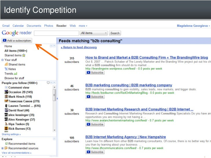 Next Steps For You: 1.   Subscribe to industry blogs/sites 2.   Follow industry thought leaders 3.   Check Google Reader d...