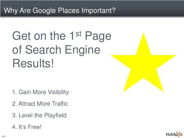 How Do Google Places Work?www.Google.com/Places/