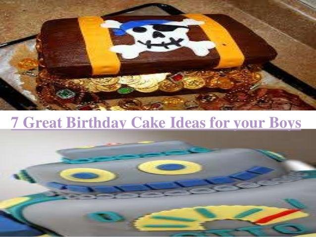 Incredible 7 Great Birthday Cake Ideas For Your Boys Funny Birthday Cards Online Alyptdamsfinfo