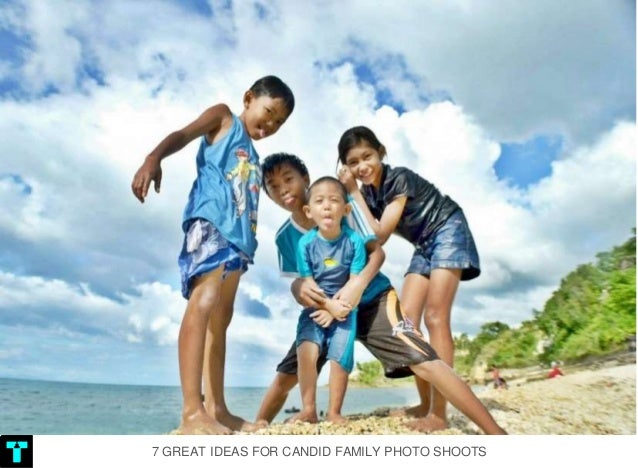 7 GREAT IDEAS FOR CANDID FAMILY PHOTO SHOOTS