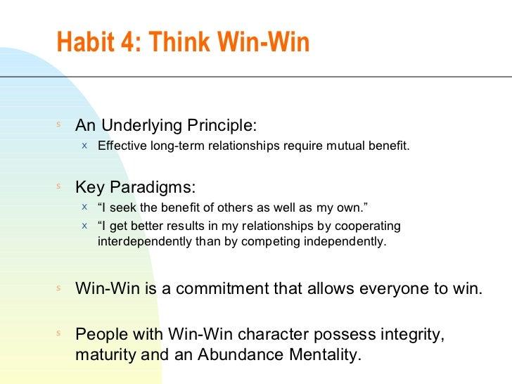living the seven habits pdf