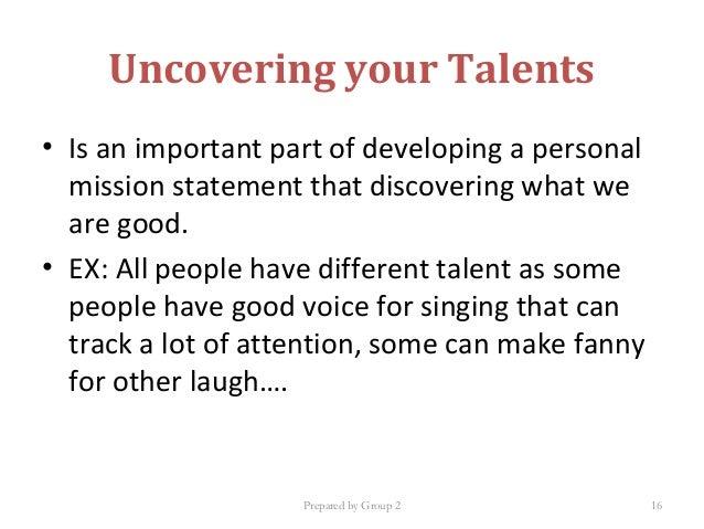 personal mission statement 7 habits
