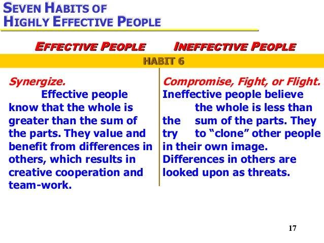Habit 6 synergize presentation pro