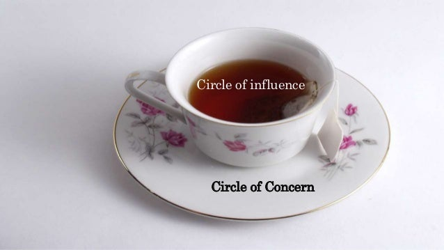 Circle of influence Circle of Concern