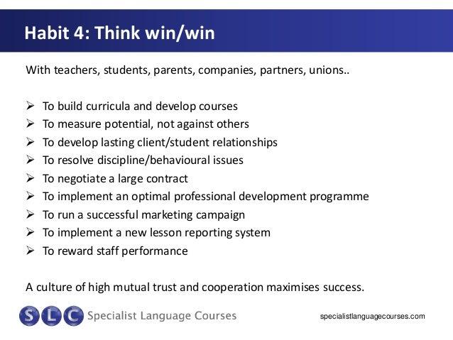 7 Habits Of Highly Effective Schools