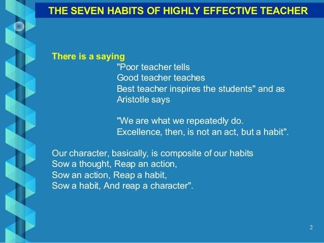 7 habits of highly effective teachers pdf