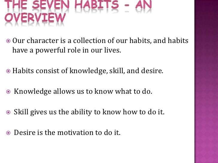 7 habits ppt. Slide 2