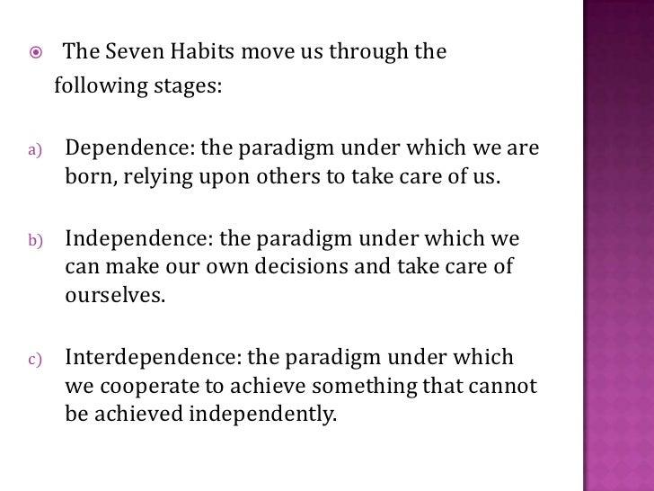 7 habits ppt. Slide 3
