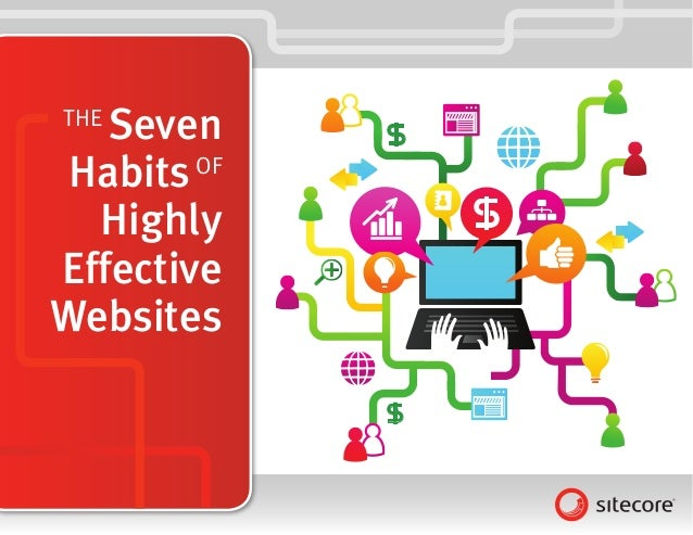 THE   Seven     $ Habits OF  Highly         $EffectiveWebsites             $