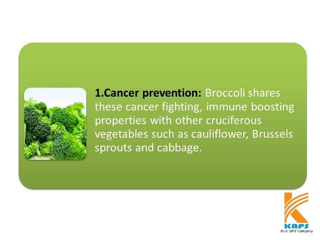 7 Health Benefits of Broccoli Slide 2