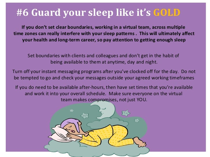 7 healthy habits for successful virtual workers (part 2) Slide 3