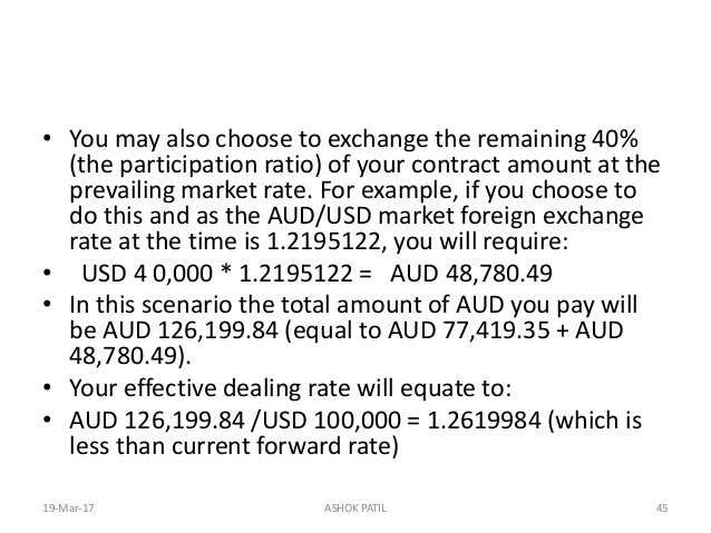exchange rate exposure hedging and the Managing currency risks with options  exchange traded futures with respect to their relatively high degree  when the exchange rate exceeds the exercise price.