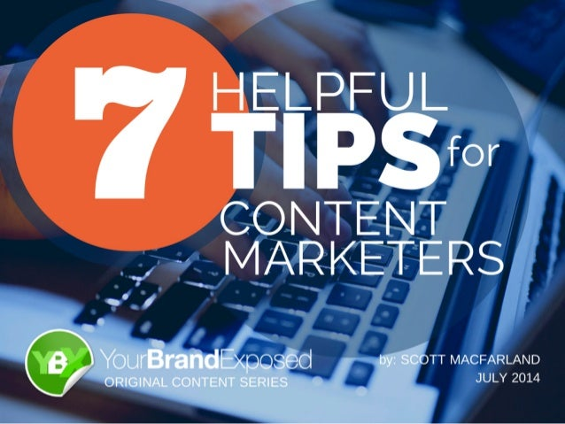 This eBook contains several helpful tips that are always on my mind as I prepare and produce content marketing initiatives...