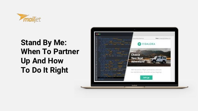 Stand By Me: When To Partner Up And How To Do It Right