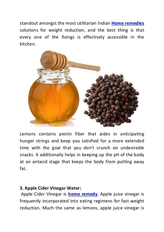 Indian home remedy to lose weight fast