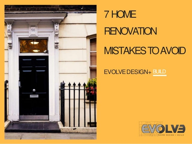 7 Design Mistakes To Avoid In Your Hall: 7 Home Renovation Mistakes To Avoid