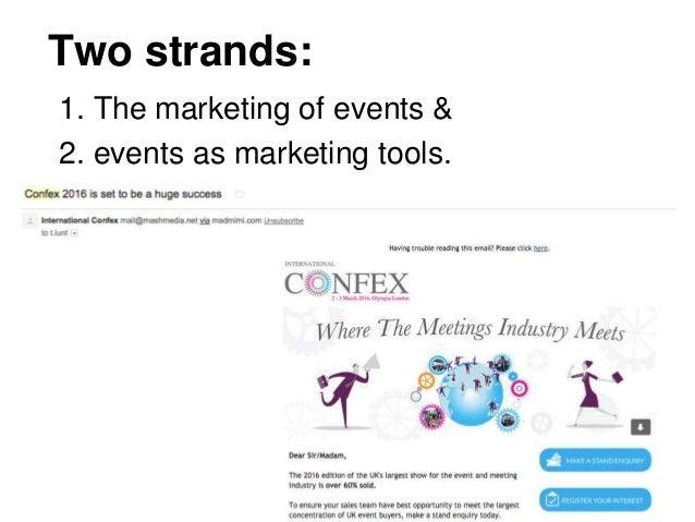 Marketing event checklist