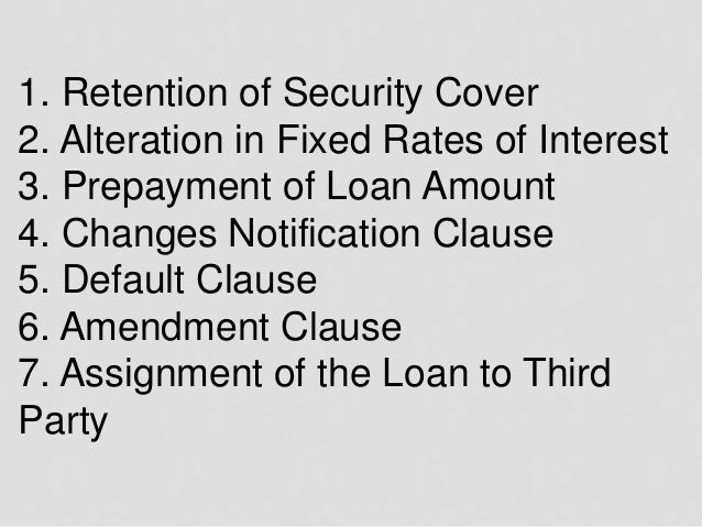 7 Important Home Loan Agreement Clauses You Must Know
