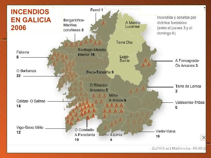 Incendios En Galicia Verano De 2006