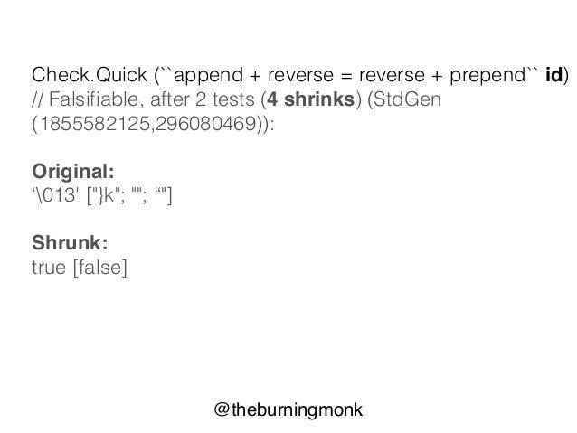 @theburningmonk Types vs Tests