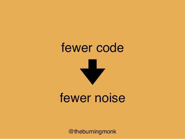@theburningmonk fewer code more productivity
